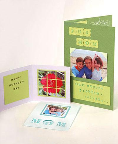 آموزش هنرهای دستی  , چند ایده برای ساخت کارت تبریک روز مادر