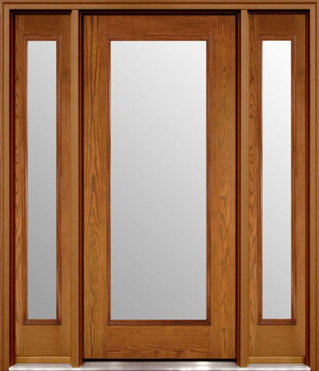 مدل در ورودی ساختمان - درب منزل - در خانه - در چوبی - درب نما چوب