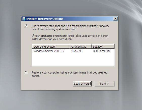 ریست کردن پسورد ویندوز سرور 2008