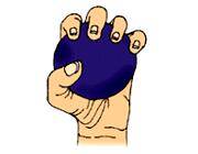 درمان درد مچ دست و گزگز انگشتان با ورزش, کاهش درد مچ دست, بی حسی انگشتان , ورزش درمانی , تقویت دست,حرکات ورزشی