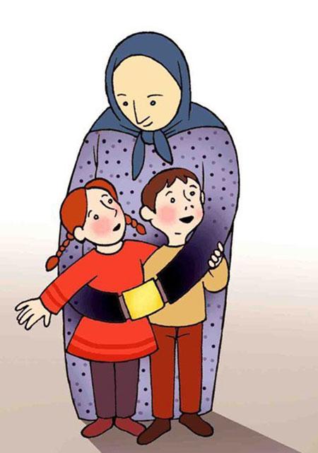 کاریکاتور روز مادر - نقاشی با موضوع روز مادر