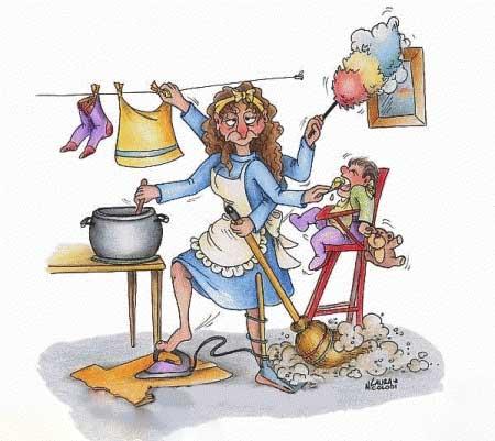 کاریکاتور روز مادر - کاریکاتورهای روز زن