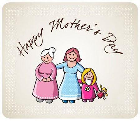 کارت پستال های روز مادر - کارت تبریک روز زن