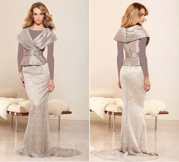 مدلهای زیبای لباس مجلسی - پیراهن مجلسی بلند زنانه - مدل لباس مجلسی بلند زنانه