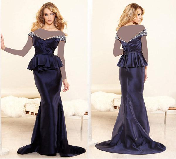 مدلهای زیبای لباس مجلسی - پیراهن مجلسی بلند زنانه - مدل لباس زنانه
