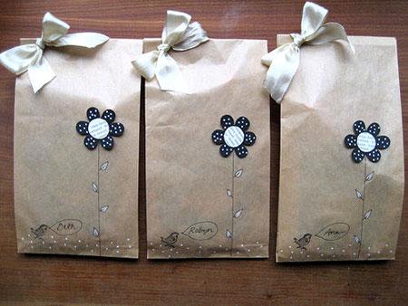 ایده های تزیین کادو - تزیین هدایا - نمونه کادوپیچی شیک - تزیین هدیه