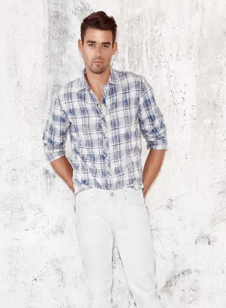 مدل لباس مردانه اسپرت - جین مردانه - Guess