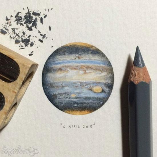 نقاشی های مینیاتوری لورن لوتز - نقاشی های شگفت انگیز کوچک -نقاشی های باورنکردنی