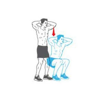 ورزشهای مخصوص شکم,سوزاندن چربی های شکم, سفت کردن عضلات باسن