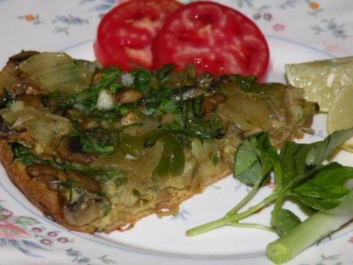 طرز تهیه کوکو سبزیجات - پنکیک سبزیجات