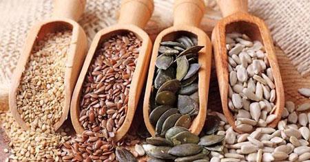 پزشکی و سلامت تغذیه  , خواص برخی از انواع تخمه ها