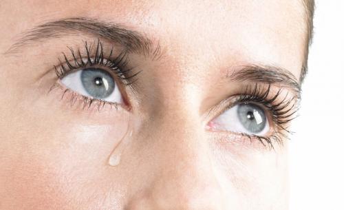 اشک چست - علت گریه - انواع اشک
