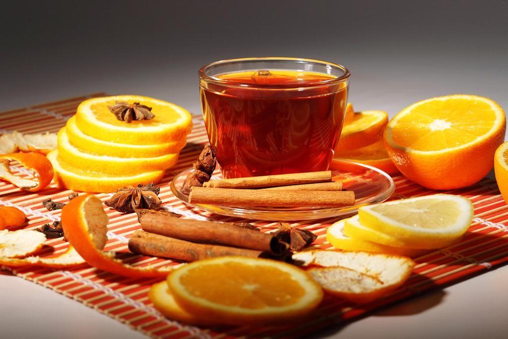 نوشیدنی ها  , طرز تهیه دمنوش پوست پرتقال