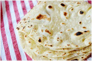 طرز تهیه نان ترتیلا در منزل - نان ترتیلای خانگی