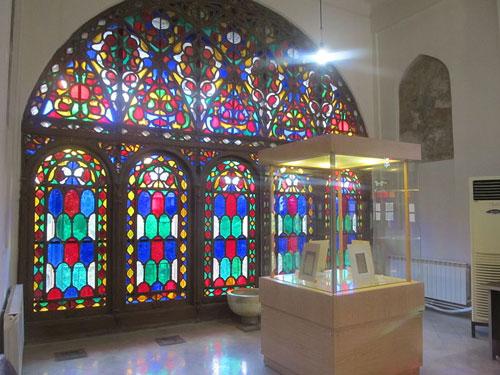 موزه-خوشنویسی-قزوین-در-چهلستون
