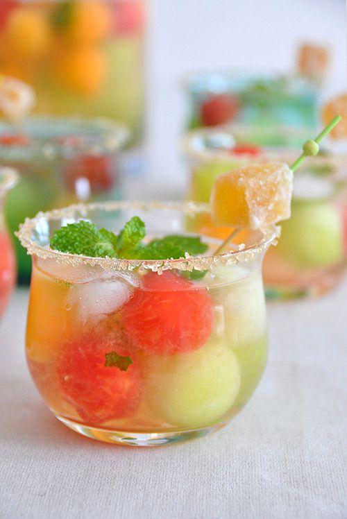 تزیین نوشیدنی - تزیین شربت - تزیین آبمیوه