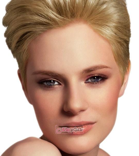 آرایش ملایم و دخترانه - مدل میکاپ صورت