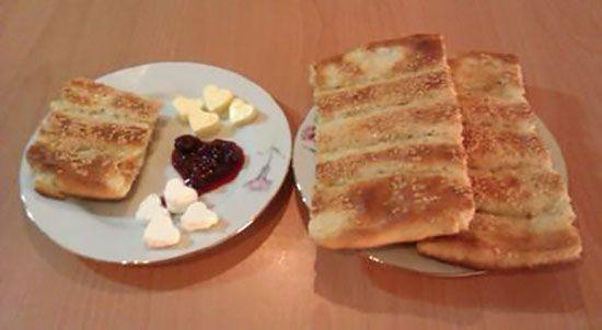 طرز تهیه نان بربری خانگی - طرز پخت نان بربری