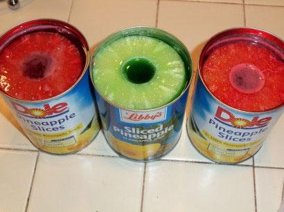 طرز تهیه ژله حلقه ای آناناس