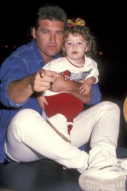 عکس مایلی سایرس و پدرش - بیوگرافی مایلی سایرس + عکس