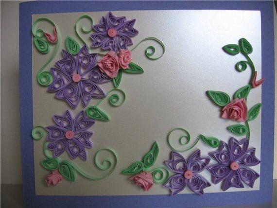 تابلوهای زیبای ساخته شده با هنر ملیله کاغذی