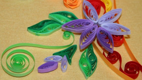 تابلوهای زیبای ساخته شده با هنر paper quilling