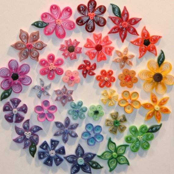 Earth Day Craft Ideas for Kids. How to Do Paper Quilling - PICTURES for Preschoolers
