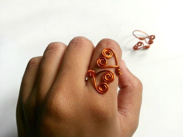 آموزش ساخت حلقه دو قلب , آموزش ساخت زیورآلات , ساخت انگشتر