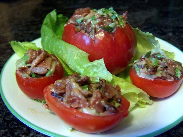 گوجه فرنگی های شکم پر