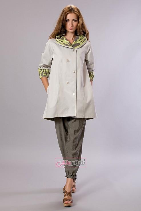مدل لباس بهاری زنانه - مانتو و شلوار زنانه