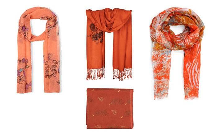 راهنمای انتخاب رنگ شال و روسری
