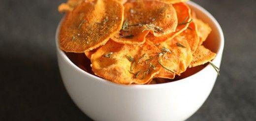 چیپس هویج- استفاده از هویج در خوراکی ها - کاربرد هویج