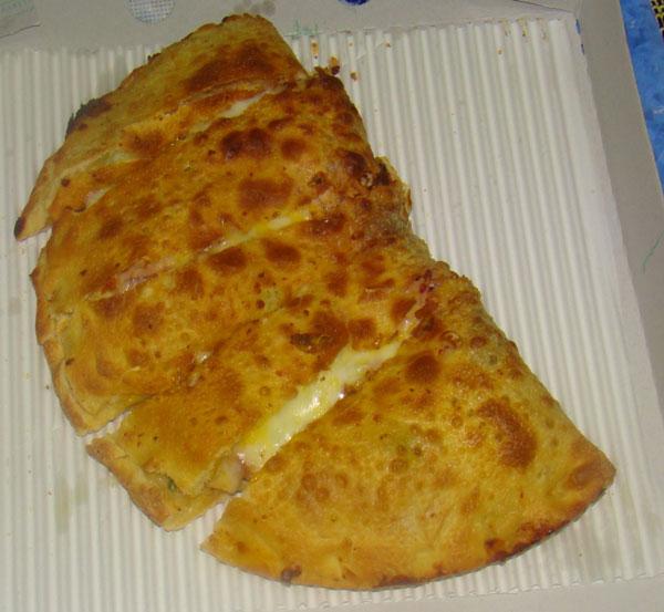 طرز تهیه پیتزا کالزون