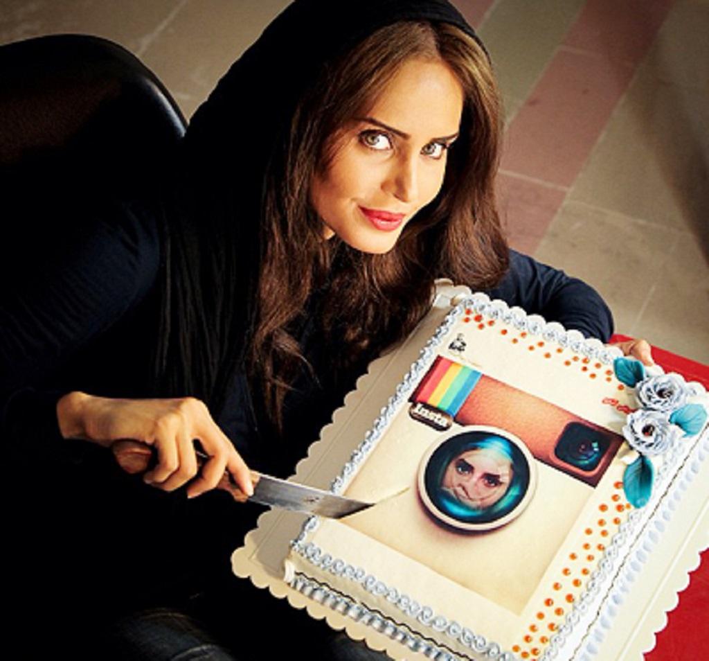1- مدل آرایش الناز شاکر دوست