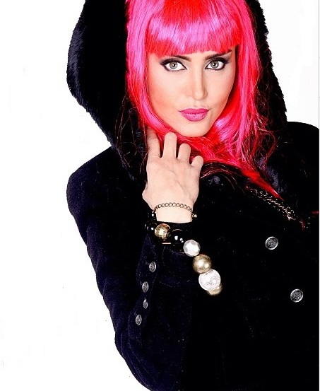 2- مدل آرایش الناز شاکر دوست