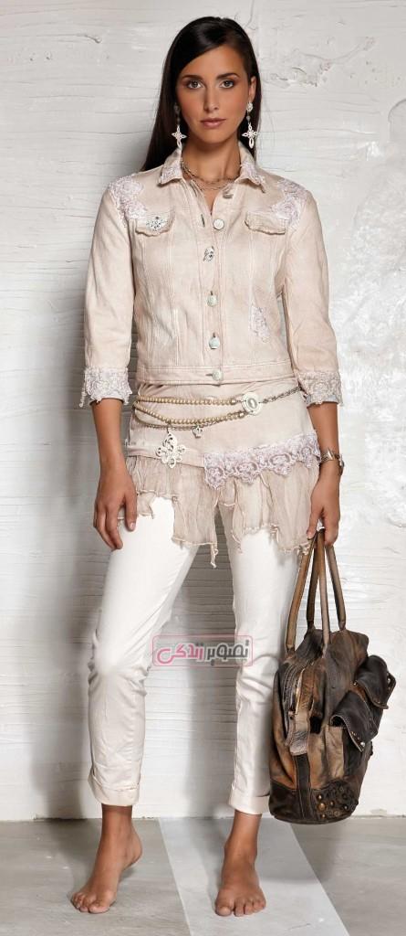 کت و شلوار اسپرت دخترانه - مدل لباس بهاری