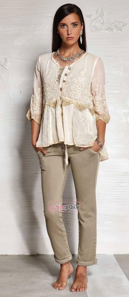 بلوز شلوار بهاری - مدل لباس زنانه