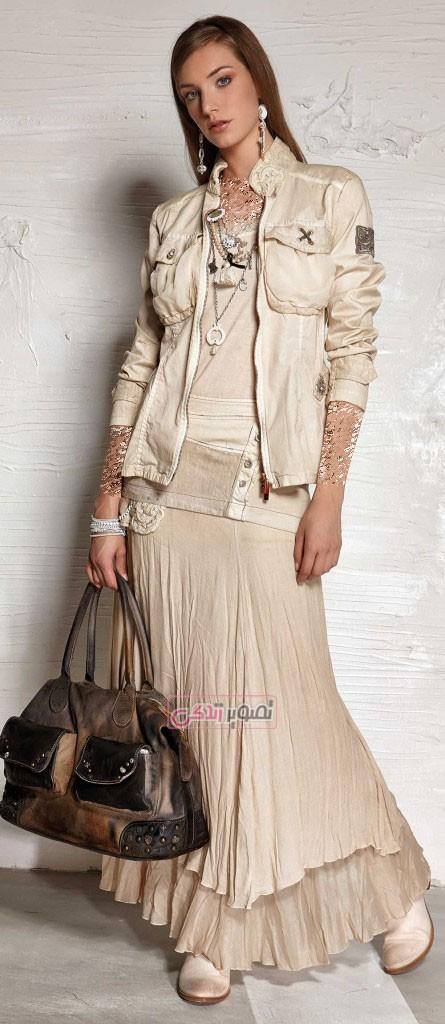مدل کت و دامن زنانه - زیباترین مدل لباس های بهاری و دخترانه