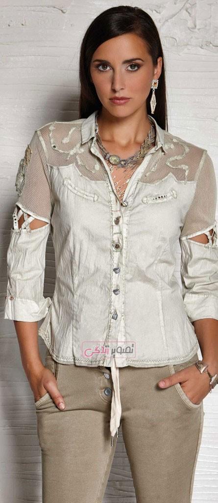 مدل بلوز زنانه - زیباترین مدل لباس های بهاری و دخترانه