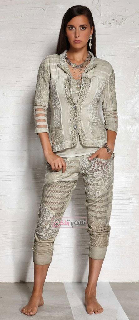 مدل بلوز شلوار زنانه - زیباترین مدل لباس های بهاری و دخترانه