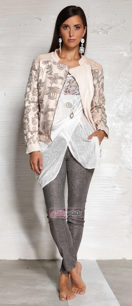 مدل لباس زنانه - لباس اسپرت دخترانه - مدل لباس بهاری - تونیک دخترانه