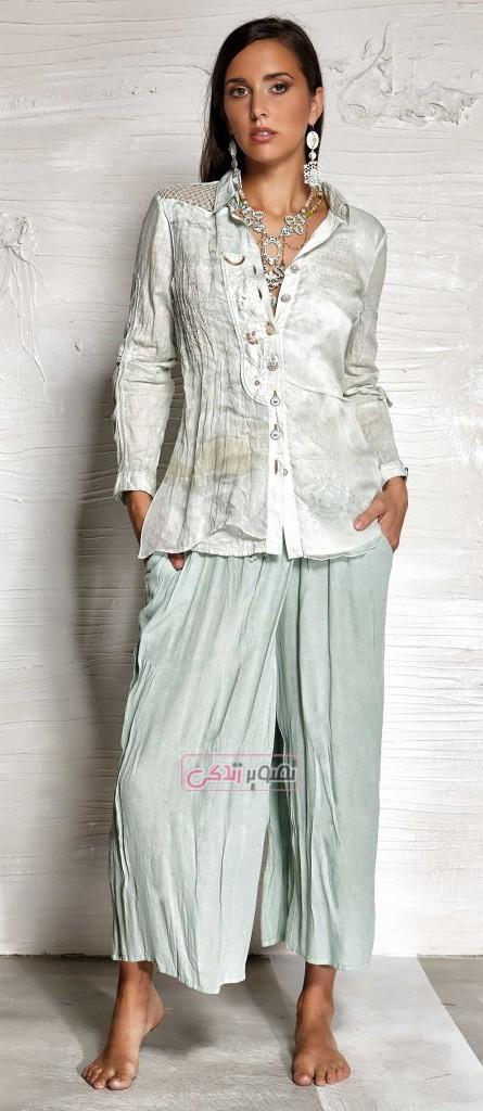 مدل لباس زنانه - بلوز شلوار دخترانه - مدل لباس بهاری