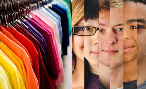 رنگ زمینه پوست - چه رنگ لباسی بپوشم