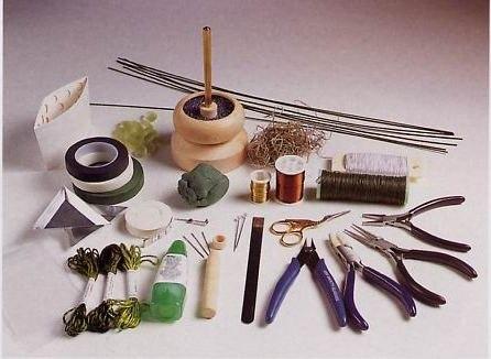 آموزش هنرهای دستی  , آموزش منجوق بافی : معرفی ابزار