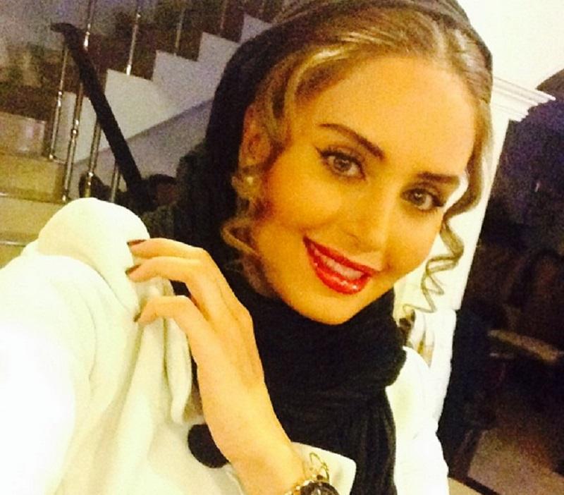 3- مدل آرایش الناز شاکر دوست