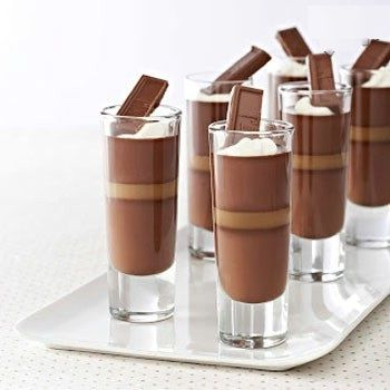 طرز تهیه پاناکوتای شکلات تلخ و کارامل