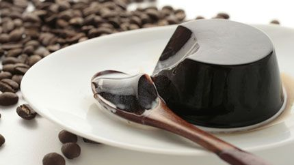 طرز تهیه ژله قهوه