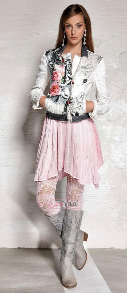 مدل لباس اسپرت دخترانه - Daniela Dallavalle - لباس راحتی - لباس بهاری