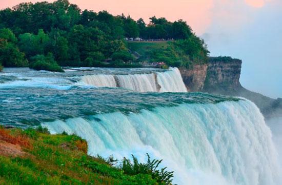 زیباترین آبشارهای امریکا