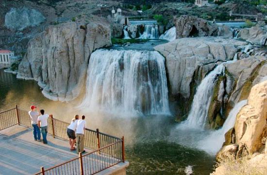جاذبه های سایر کشورها گردشگری  , زیباترین آبشارهای امریکا + عکس